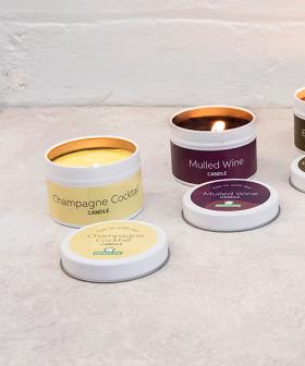Menulog Selling Candles That Smell Like Your Fav Alcohol