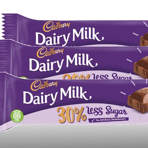 Cadbury Has Created A 30% Less Sugar Dairy Milk Chocolate Block