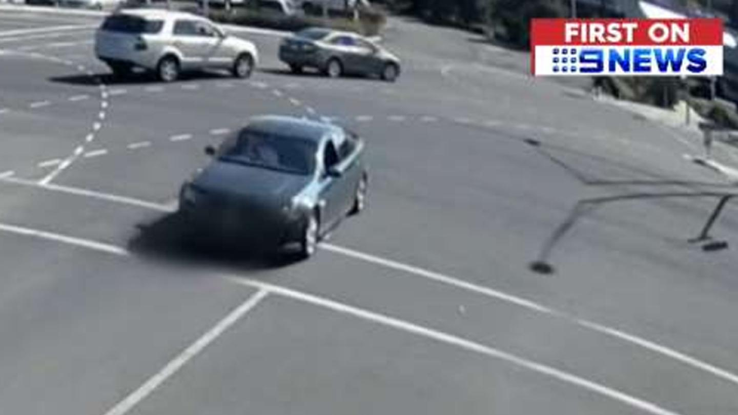 Australian Driver Blacks Out, Flies Into The Air And LANDS IN A PARKING SPOT!