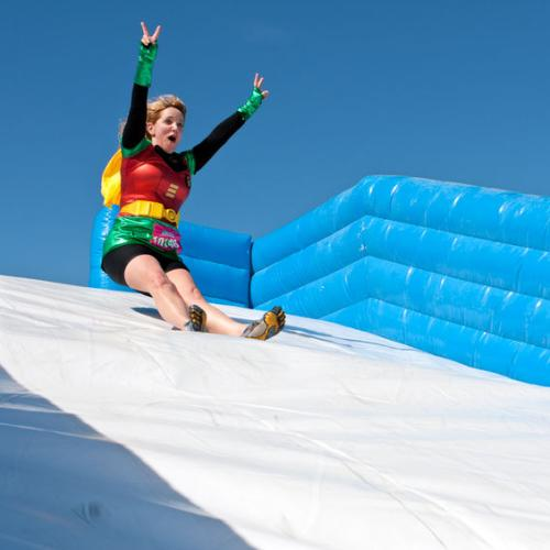 A 300-metre-long inflatable Obstacle Course Is Coming!