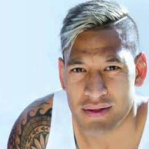 Israel Folau Was The Pin-Up Boy For A Gay Event