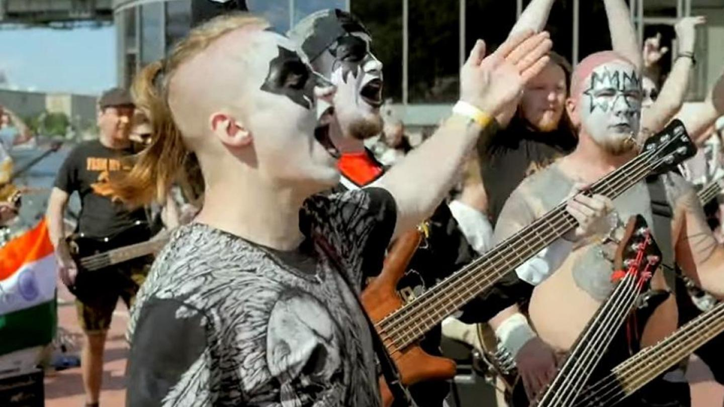 "Watch More Than 270 Musicians Play KISS' ""I Was Made For Lovin' You"""
