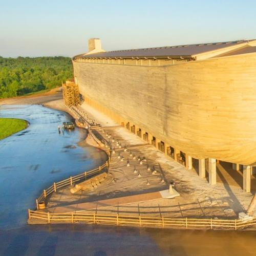 Life-Size Noah's Ark Sues For...Get This..Rain Damage!