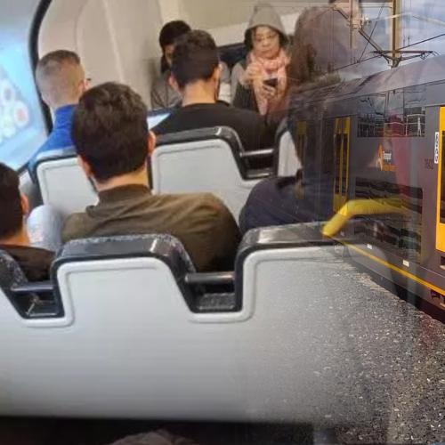 This Photo Of A Sydney Train Has Sparked A Massive Debate