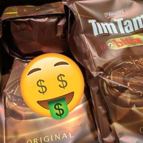 Packet Of Tim Tams For $26 Spotted At Sydney Airport