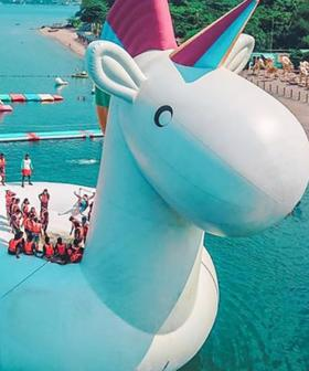 A Giant Inflatable Unicorn Party Is Coming To Sydney