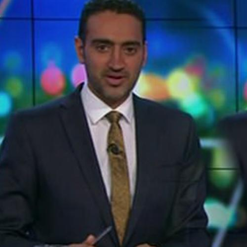Waleed Aly Has Rare Emotional Moment On Live Tv