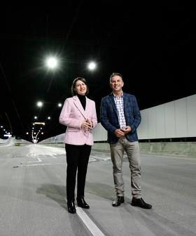 NSW Government Announces New M4 Tunnels Will Open This Weekend