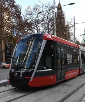 Daytime Sydney CBD Light Rail Trials Begin
