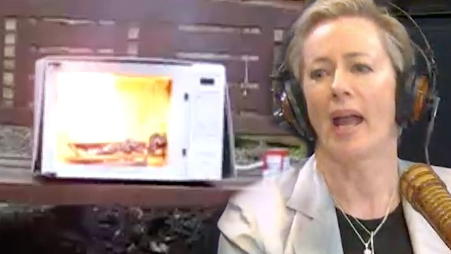 How Did Amanda Keller Make The Office Microwave Explode?