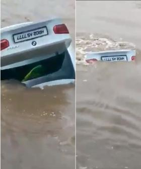 Man, 22, Drives BMW Birthday Gift Into River Because It Wasn't A Jaguar