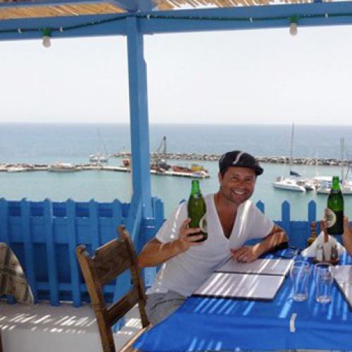 Holiday in Santorini