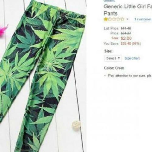 Parents Up In Arms Over Marijuana Leggings Aimed At Toddlers