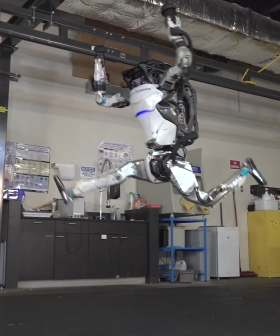 WATCH: Engineers Create Robot That Does Gymnastics