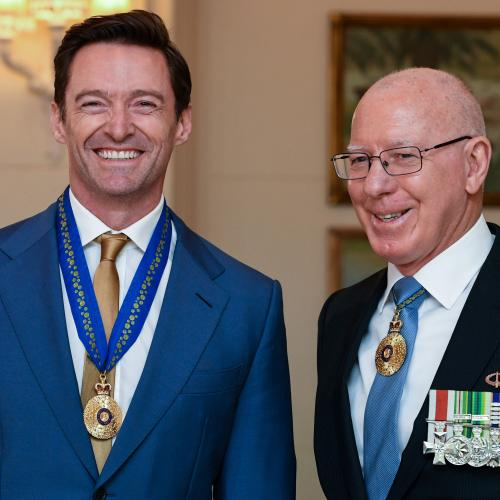 Hugh Jackman Awarded Order Of Australia Medal