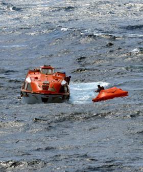 P&O Holiday Cruise Ship Rescues Three Men Found At Sea