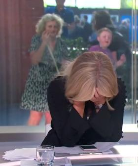 Sam Armytage's Embarrassing Slip Of The Tongue On Sunrise This Morning