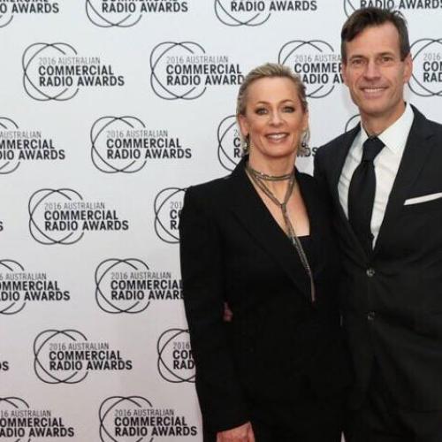 Jonesy & Amanda Frock Up For The Radio Awards