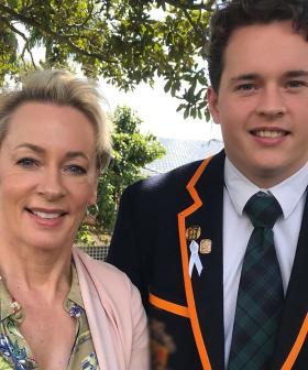 Amanda Keller Breaks Down On Her Son's Last Day Of School