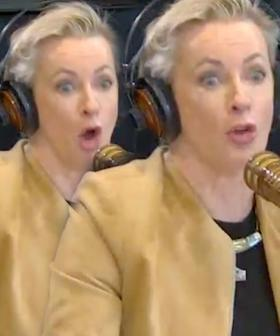 Amanda Keller In Hysterics After Receiving A Message From One Of Her Idols