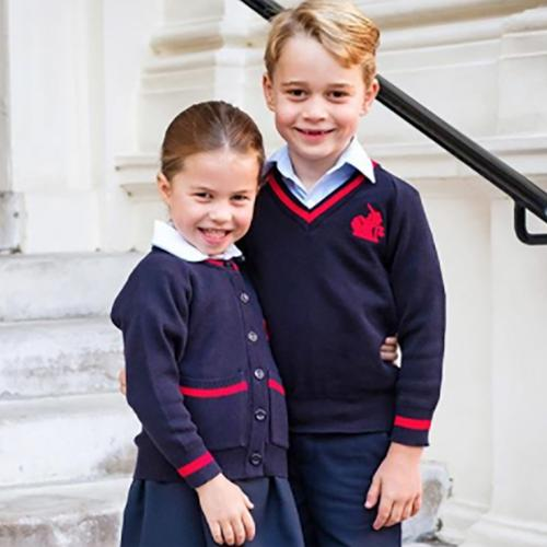 Princess Charlotte Is Adorable On Her Very First Day Of School