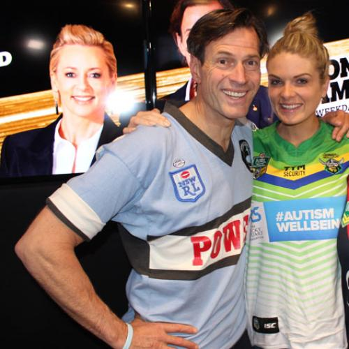 Erin Molan Gives Us Her Footy Tips On Footy Colours Day