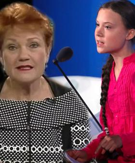 """No Life Experience!"": Pauline Hanson Takes A Swipe At Teen Climate Activist Greta Thunberg"