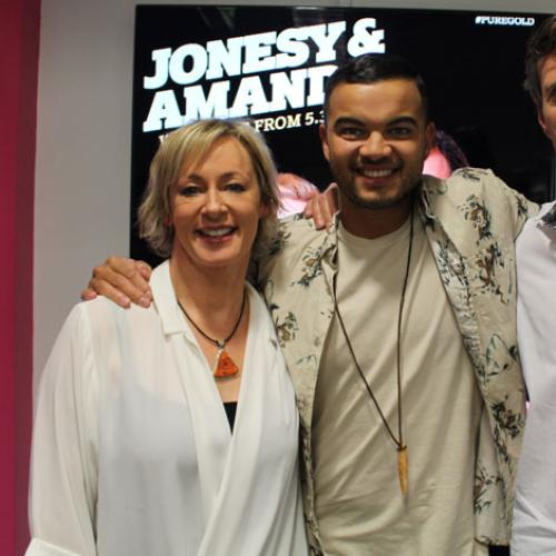Jonesy Tries To Co-Write A Song With Guy Sebastian