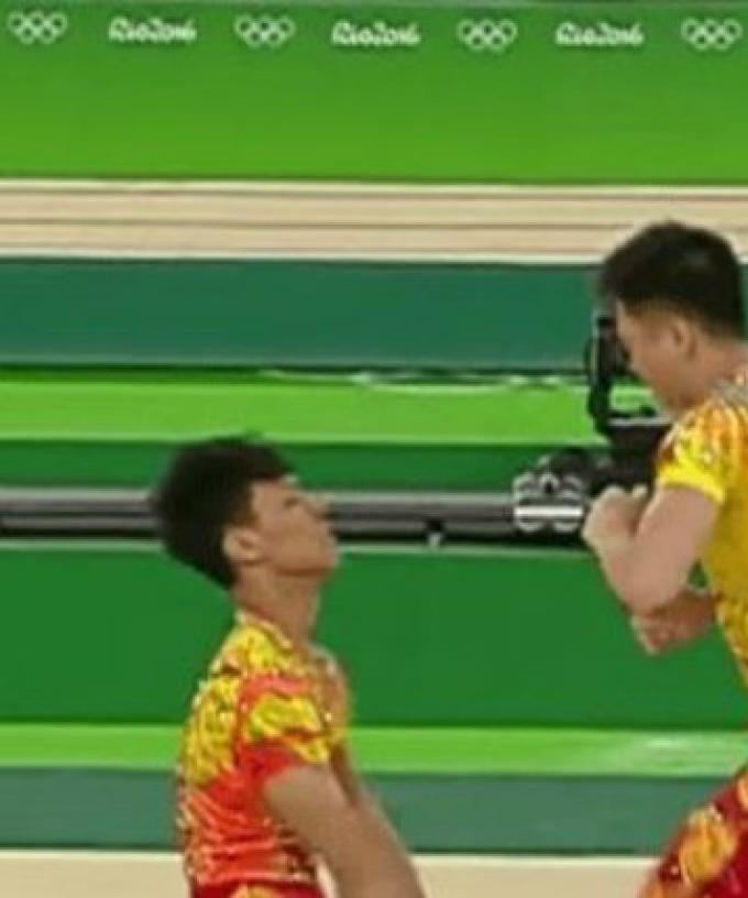 Chinese Gymnastics Blog: Photos from Winter Training