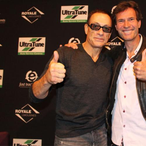 Jean-Claude Van Damme Faces Off With Jonesy