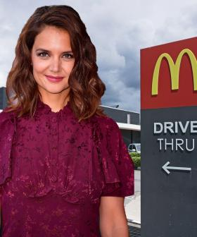 Katie Holmes Is The Ambassador For McHappy Day This Year