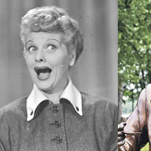 Frightening Lucille Ball Statue Replaced After Outrage