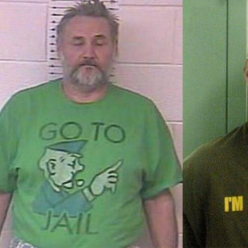 Not The Best Tee Shirt's To Wear After You've Been Arrested