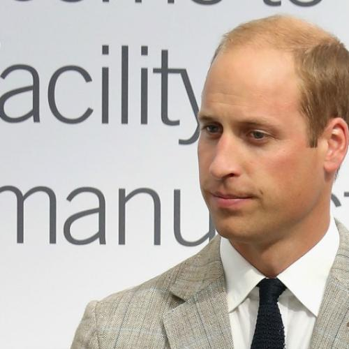 Prince William Bonds With Young Boy Over The Loss Of His Mum