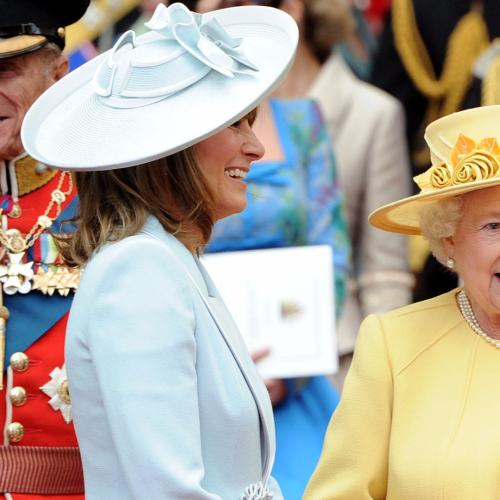 Kate & Carole Middleton's New Chauffeur Is... The Queen!