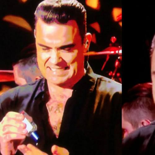 Robbie Williams Classic Response To Hand Sanitiser Incident