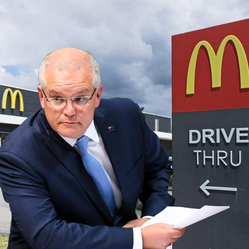 Scott Morrison Has Finally Addressed The Engadine McDonald's Rumour