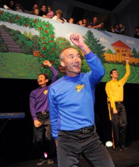 http://TO%20GO%20WITH%20Australia-music-entertainment-Wiggles,FEATURE%20by%20Amy%20Coopes%20This%20photo%20taken%20on%20September%205,%202010%20shows%20'The%20Wiggles'%20(L%20to%20R)%20Jeff%20Fatt,%20Anthony%20Field,%20Sam%20Moran%20and%20Murray%20Cook%20performing%20with%20Dorothy%20the%20Dinosaur%20(R)%20as%20they%20announce%20their%2020th%20birthday%20exhibition%20at%20the%20Powerhouse%20Museum%20in%20Sydney.%20The%20much-loved%20children's%20group,%20which%20has%20sold%20more%20than%2030%20million%20DVDs%20and%20CDs,%20is%20shown%20on%20TV%20in%20145%20countries%20and%20is%20regarded%20as%20Australia's%20greatest%20musical%20exports.%20%20AFP%20PHOTO%20/%20Torsten%20BLACKWOOD%20(Photo%20credit%20should%20read%20TORSTEN%20BLACKWOOD/AFP/Getty%20Images)