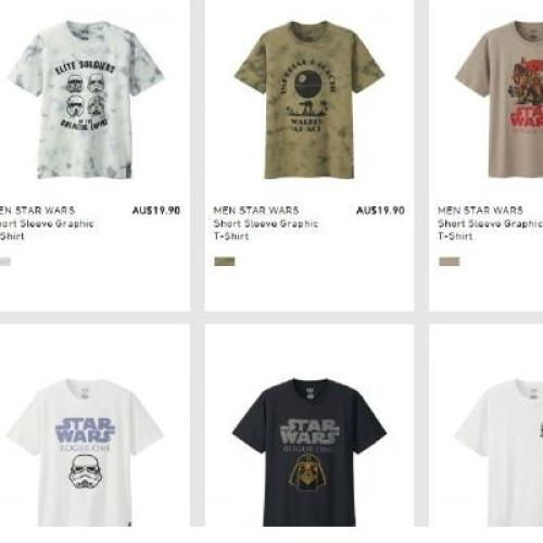People Are Outraged by Uniqlo's New Star Wars Clothing Line