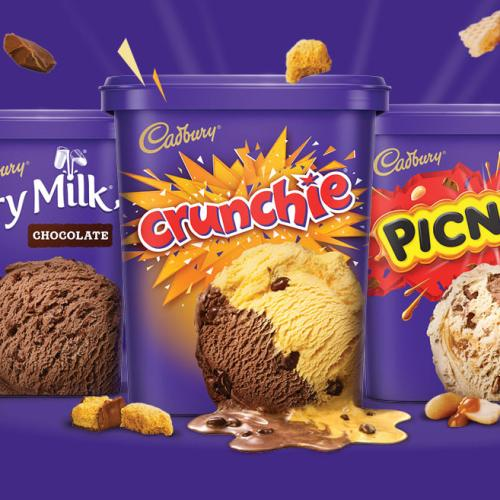Your Favourite Cadbury Chocolate Are Now ENTIRE TUBS Of Ice Cream
