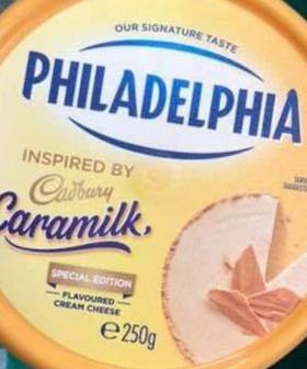 Caramilk Cream Cheese Has Hit The Shelves