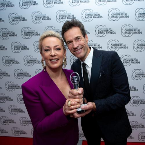 Jonesy And Amanda Win Australia's Top Radio Award