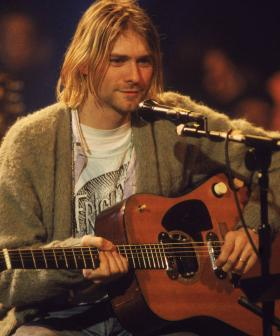 Kurt Cobain's Unwashed Green Cardigan Is Up For Auction For An Insane Price