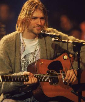 Kurt Cobain's Unwashed 'MTV Cardigan' Goes For Almost Half A Million