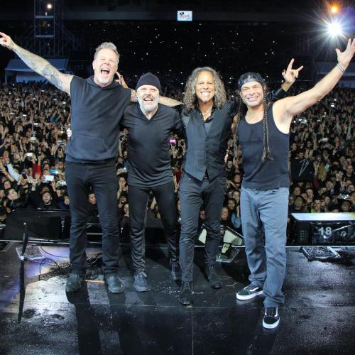 Metallica Is Working On A New Album... Remotely!