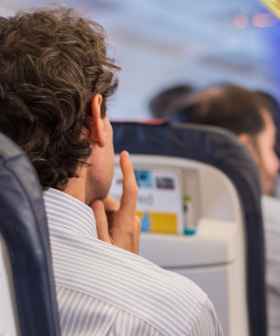 Social Media Users Left Stunned By Couple Getting Far Too Close On A Plane Trip