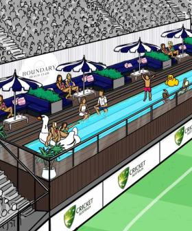 Optus Stadium Is Installing A Heckin' Pool For Cricket Fans This Summer