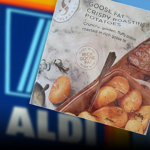 ALDI Is Selling Christmas-Level Goose Fat Potatoes For Just $4