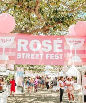 A Rosé Street Festival Is Going Down In Watsons Bay