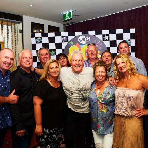 GALLERY: WSFM's 80s Lunch With Daryl Braithwaite